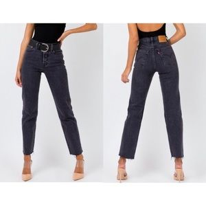 ✦ LEVI'S PREMIUM ▸ wedgie fit cropped jeans